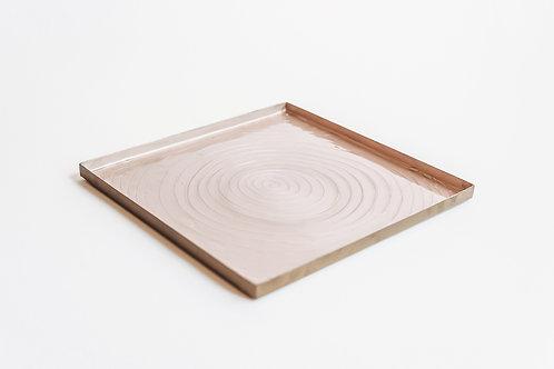 Goud- lichtroze tray