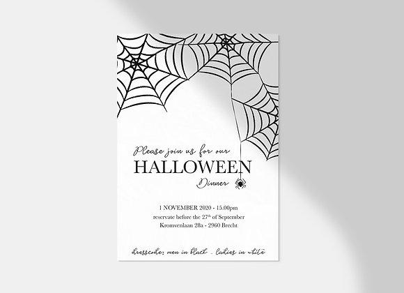 Collectiekaart | Halloween spider