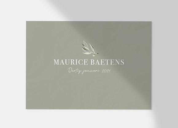Collectiekaart   Maurice