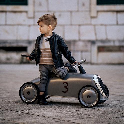 Loopauto Rider zilver