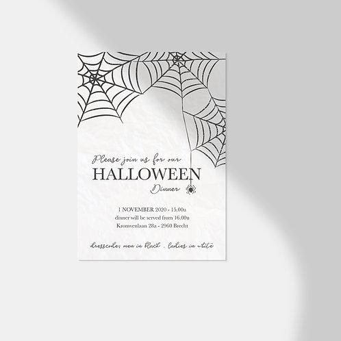Uitnodiging - halloween