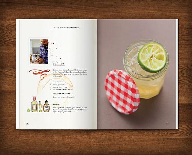 Dr Massos Classic Cocktails At Home Recipe Book Design