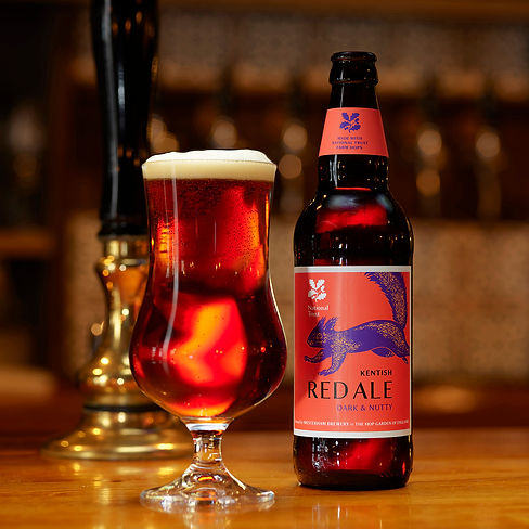 National Trust Kentish Dark Red Ale Serv
