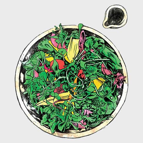 Bistro Menu - Illustration - Bistro Sala