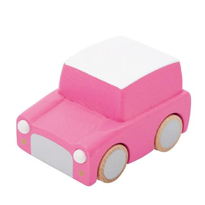 KURUMA - CLASSIC WOODEN WIND UP CAR
