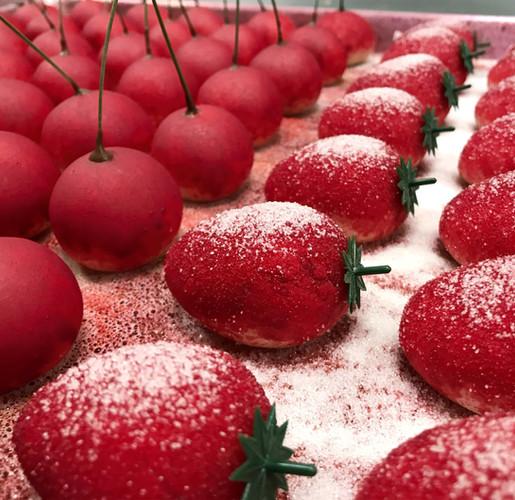 Cherries and Strawberries