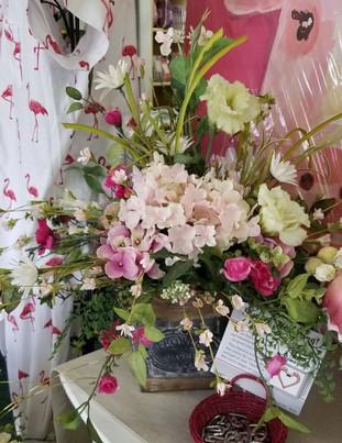 Pink Box - Silk Arrangement