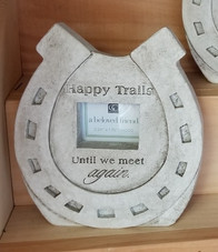 Happy Trails Memorial Frame