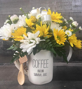 Coffee Cup Arrangement
