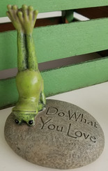 Do What You Lovew - Yoga Frog