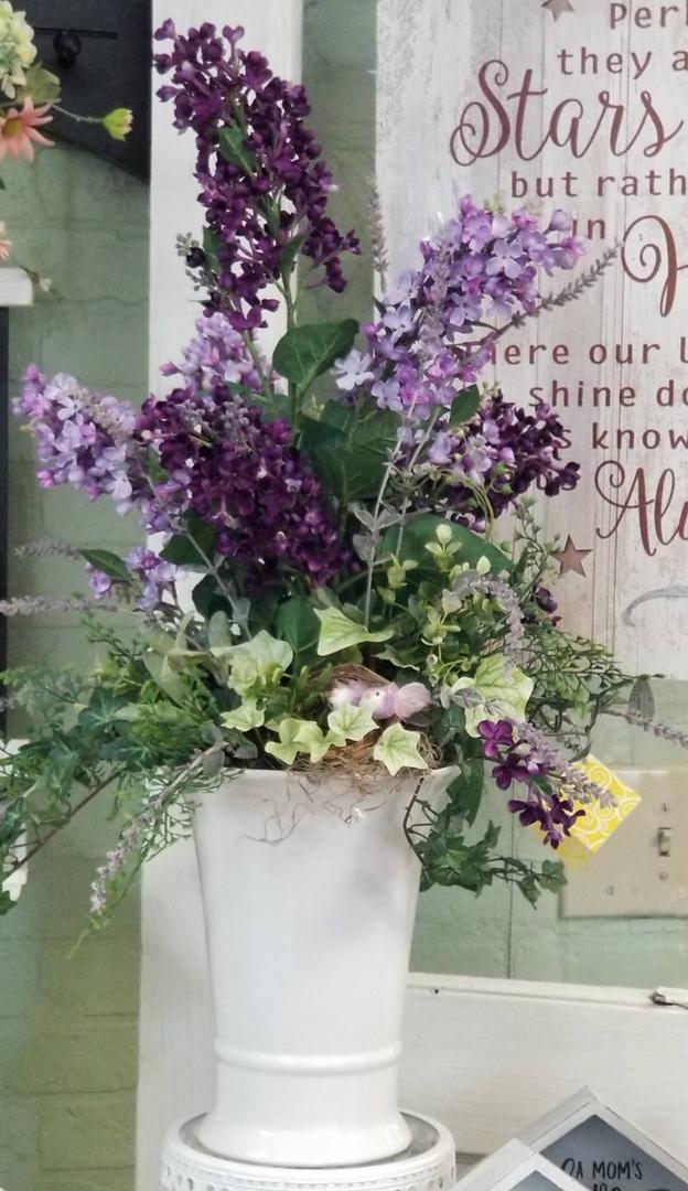 Purple Wildflower - Silk Arrangement