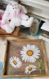 Daisy Serving Tray