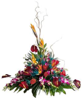Tropical Memorial Arrangement