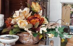 Ceramic Bowl - Silk Arrangement