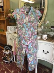 Cat's Pajamas - Paisley Print