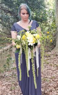 Over The Top Wedding Bouquet Photo Shoot