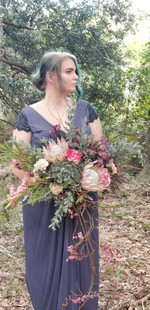 Wedding Bouquet Photo Shoot