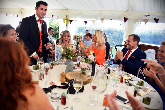 Katie & Matt's Wedding - Tolland, Taunton, Somerset