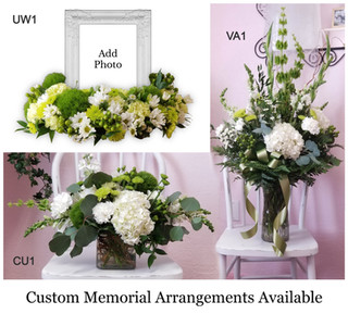 Custom Memorial Arrangements