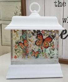 Butterfly Light Up Water Globe