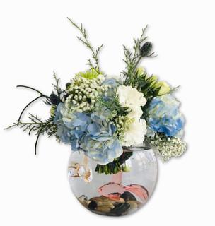 Custom Bubble Bowl Arrangement