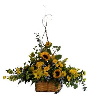 Custom basket Arrangement