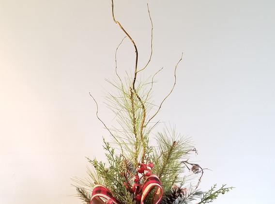 Christmas Silk Arrangement