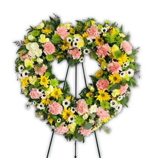 "18"" Heart Wreath"