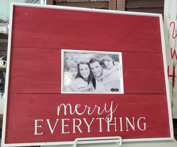 Merry Everything Frame (5x7)