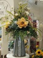 Spring Silk Flower Arrangement