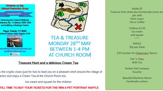 Treasure and Tea - 28th May 2018