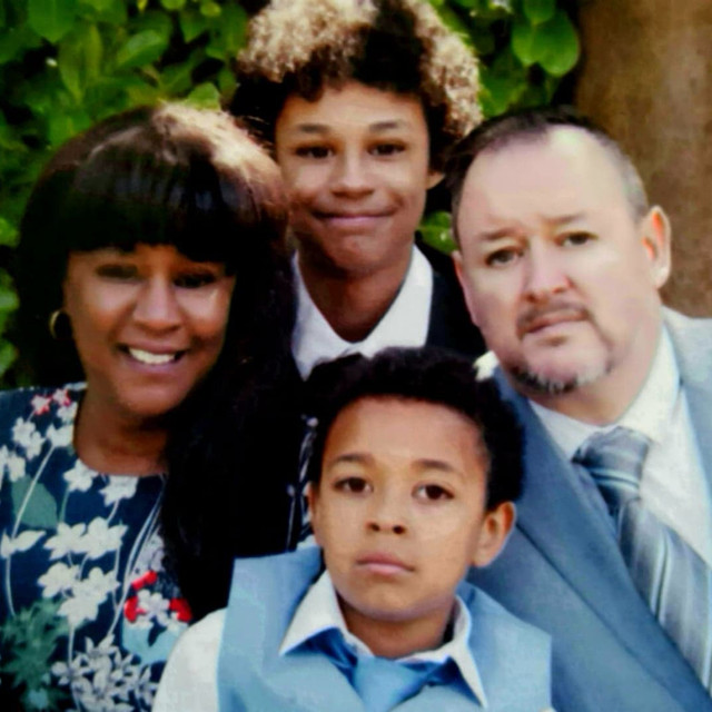 Allison & Anthony with their children Nathan & Joseph.