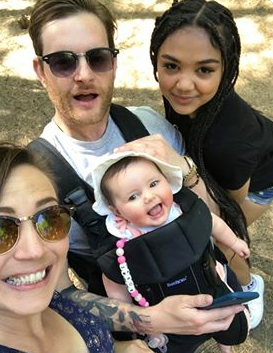 Tor, Michael, Amelia, & Bobby