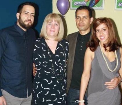 Lisa & her family