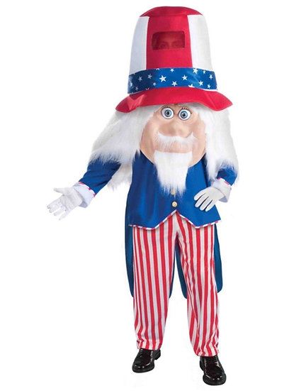 Uncle Sam party character, party entertainers for hire, Holiday characters, US characters Ohio