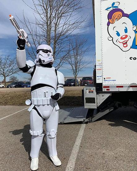 Bexley, Ohio Storm Trooper for hire -Superhero Characters Columbus Ohio Events & Parties