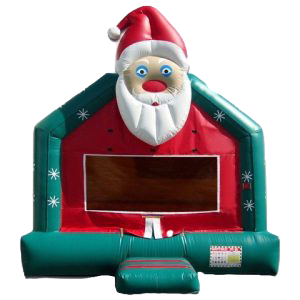 Ohio Holiday themed bounce house rentals, Columbus, Ohio santa claus bounce rentals
