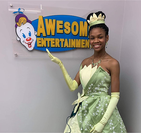 springfield ohio Tiana princess Columbus, Ohio Awesome Family Entertainment