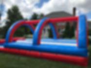 Inflatable Slip N Slide  Tripple Lane Rental Ohio