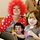 Columbus Ohio Party Clowns for hire, Friendly Clowns for events, Face Painting Clowns - Balloon Twisting Clowns - Columbus OH