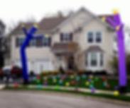 Inflatable Tub Dancer rentals Columbus OH