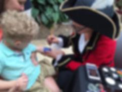 pirate face painters Columbus Ohio