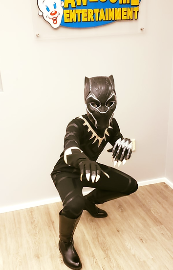 Columbus, Ohio Black Panther for hire - Birthday Party Characters for hire OHIO