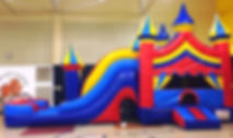 Carnival Theme Bounce House Rental Columbus, OH.