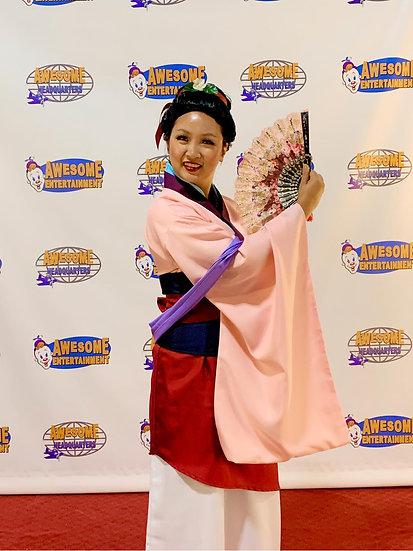 Columbus, Ohio Mulan Princess for hire, Princess parties Columbus,  Ohio, hire a princess Mulan party characters