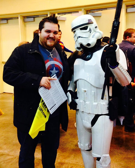 Columbus, Ohio Storm Trooper for hire -Superhero Characters Columbus Ohio Events & Parties