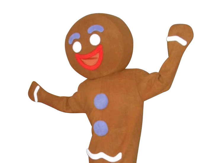 Columbus Ohio, Gingerbread man character, Holiday characters for rent, holiday prefers for hire Columbus Ohio