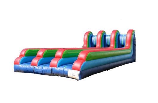 Three Lane Inflatable Bungee Run Rentals, Columbus Ohio Sport Game Rentals