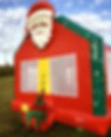 Santa Cluase Bounce House, Santa Inflatable Rentals - Columbus Ohio