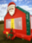 Santa Claus bounce house rental - Columbus Ohio